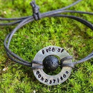 Jewelry - Lava Bead Personalized Bracelet